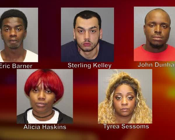 Five people arrested on drug and weapons charges in Corning_22427296