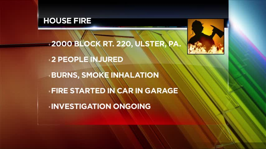 House fire in Bradford County may have been caused by a car_79782170