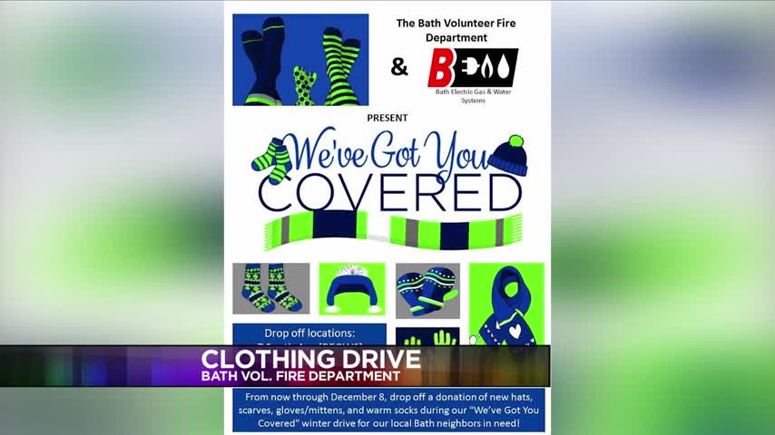 Bath Vol- Fire Department holds clothing drive_35243743