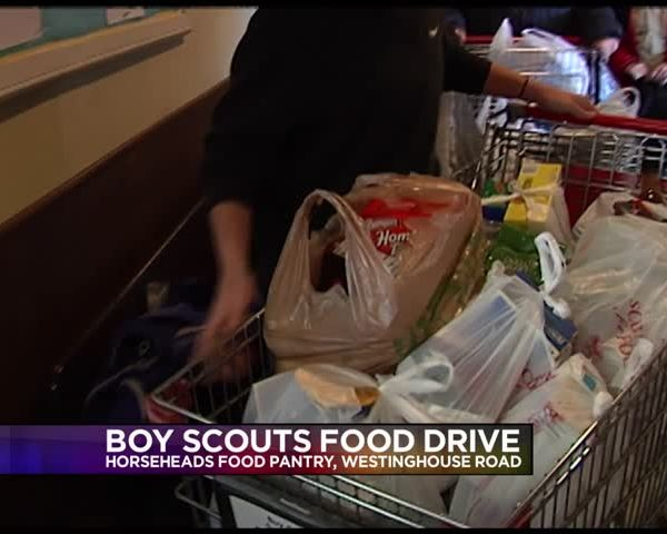 Boy Scouts food drive benefits local food pantries_11931491