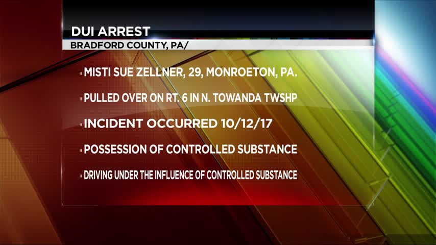 Bradford County woman facing drug charges after traffic stop_19986247