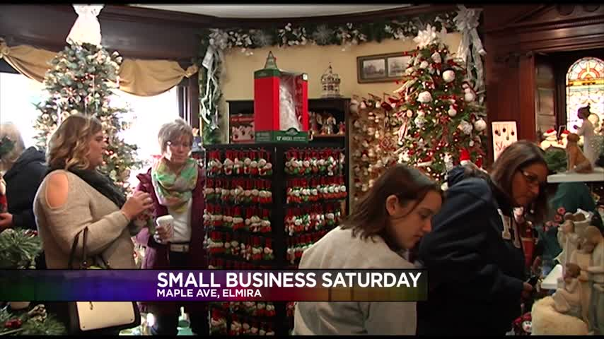 Small Business Saturday Draws Local Shoppers_69801300