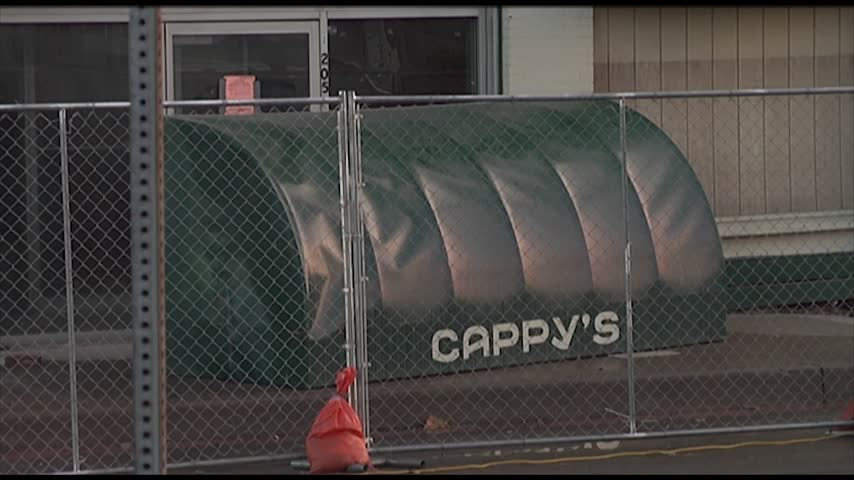 Demolition Begins on Cappy's