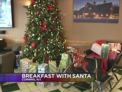 CORNING, N.Y. (18 NEWS) - Santa Claus is coming to town and his stop is the Wegmans in Corning.
