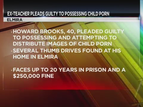 Former teacher pleads guilty to possessing child porn