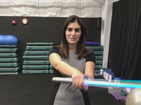 BATH, N.Y. (18 NEWS) - He holds the lightsaberacademy at Elmira Fitness Center where he teaches adults as well as children as young as eight years old.