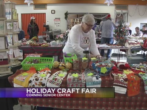 CORNING, N.Y. (18 NEWS) - It was at the annual Holiday Craft Fair that the center hosts.