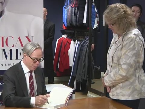 CORNING, N.Y. (18 NEWS) - Tommy Hilfiger is currently in Corning at his Market Street store.