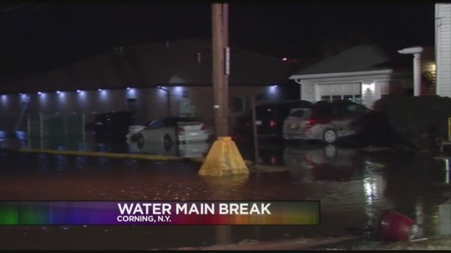 CORNING, N.Y. (18 NEWS) - A boil water advisory has been lifted after a water main break in Corning on Tuesday night.