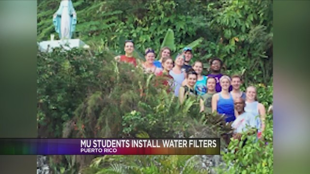 MANSFIELD, Pa. (18 NEWS) - Last week, MansfieldUniversity sent 13 students to PuertoRico to help with hurricane relief efforts.