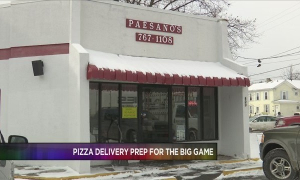 Pizza Shops Prep for Game Day