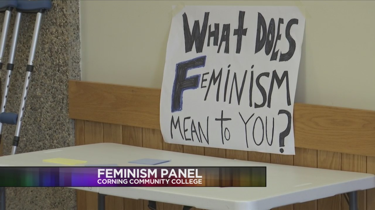CORNING, N.Y. (18 NEWS) - The panel featured faculty, students, and community members who took part in dialogue to reflect on the past and present status of women in society.