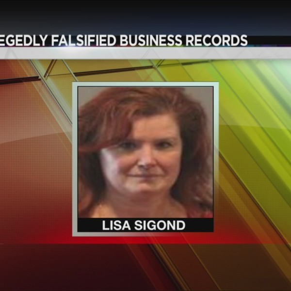 Canisteo falsifying business records