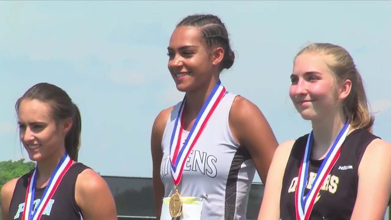 Gambrell Wins State Title in Triple Jump