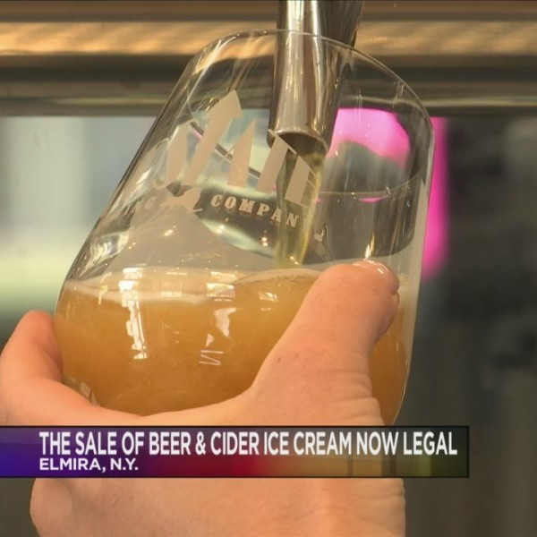 Beer ice cream now legal in New York