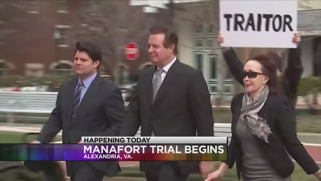 Paul Manafort fraud trial begins today