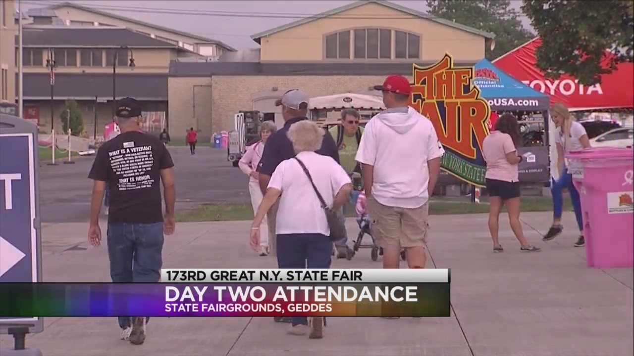 173rd Great N.Y. State Fair: Day Two continues to break records