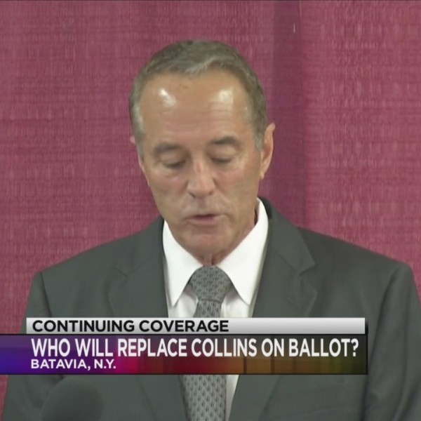 Candidates vy to replace Congressman Chris Collins on the ballot