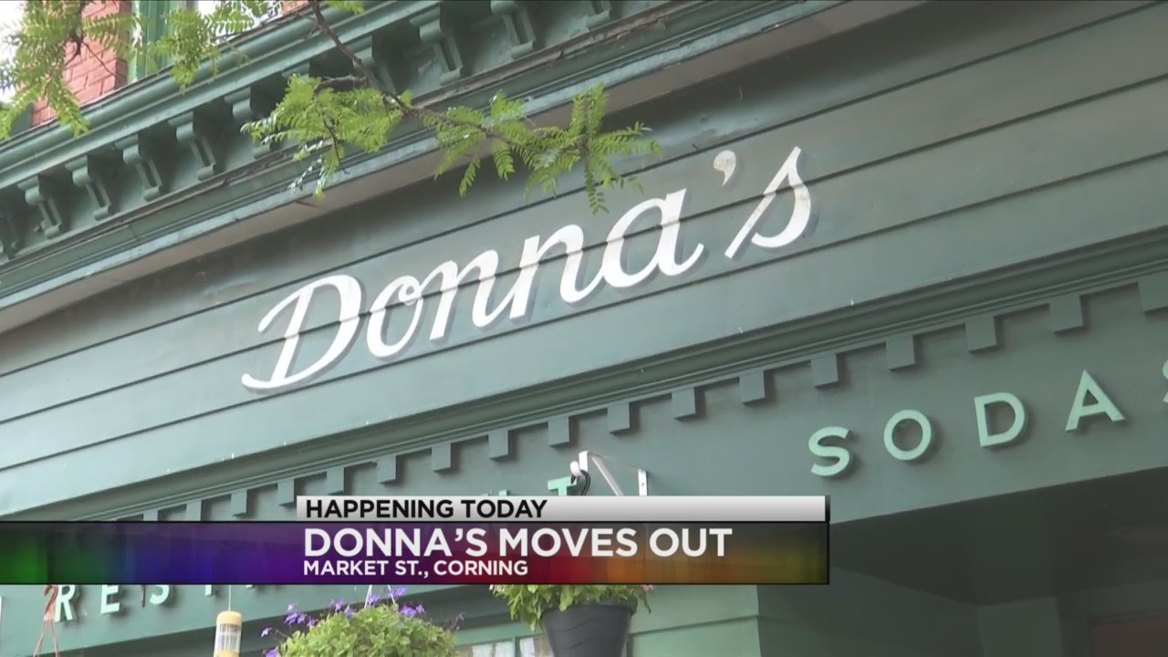 Donna's move out day