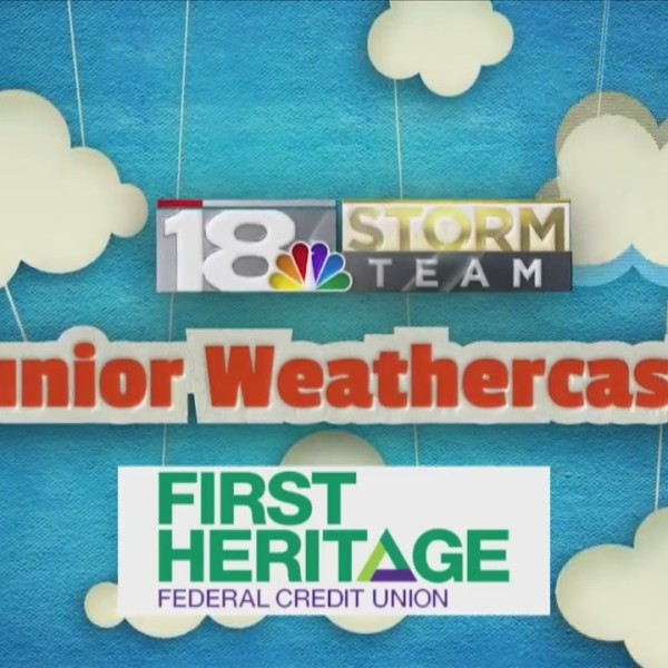 Junior Weathercaster: Kolston DeCamp