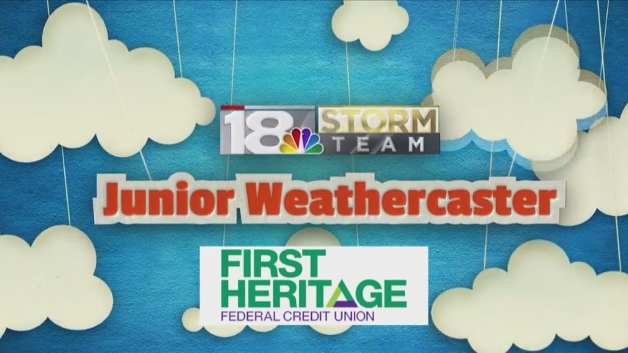 Junior Weathercaster: Kolston DeCamp