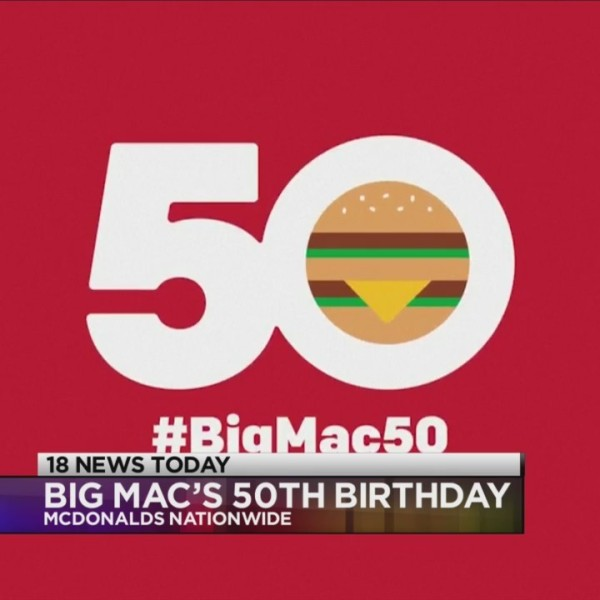 Special offer in honor of Big Mac's 50th birthday