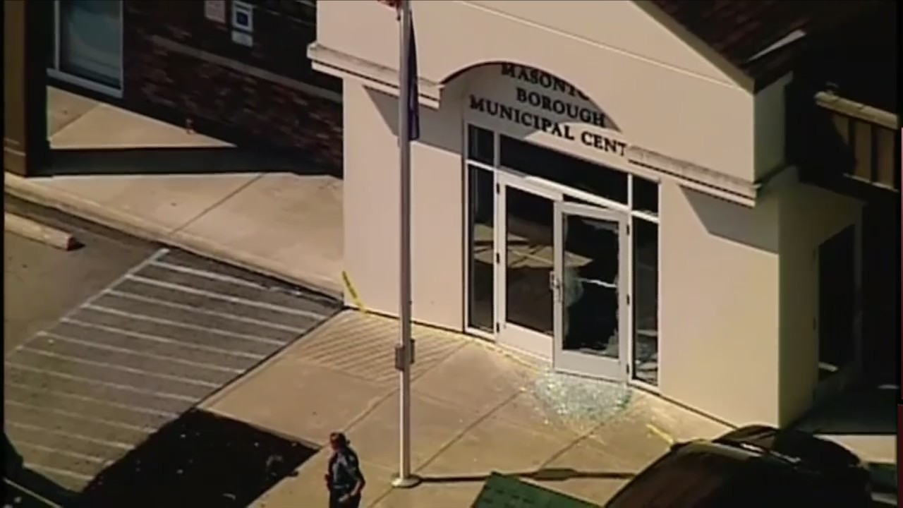 1 dead, 4 injured in shooting outside PA courthouse