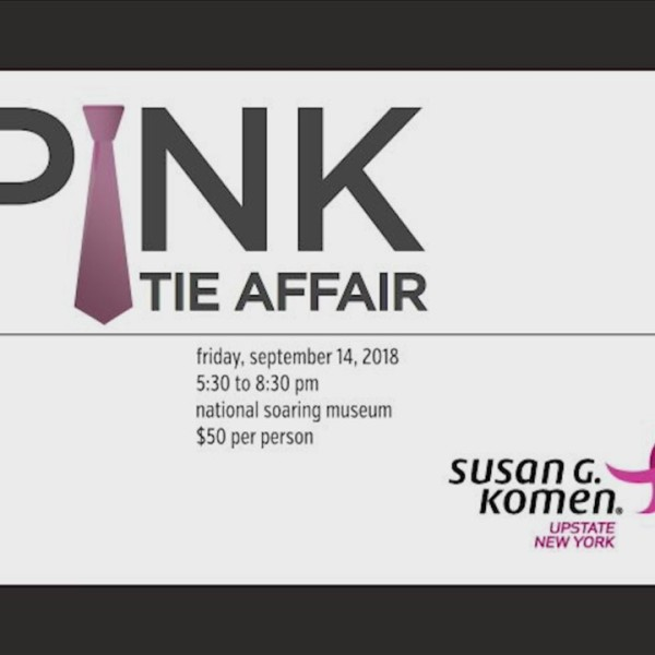 6th Annual Pink Tie Affair is this Friday