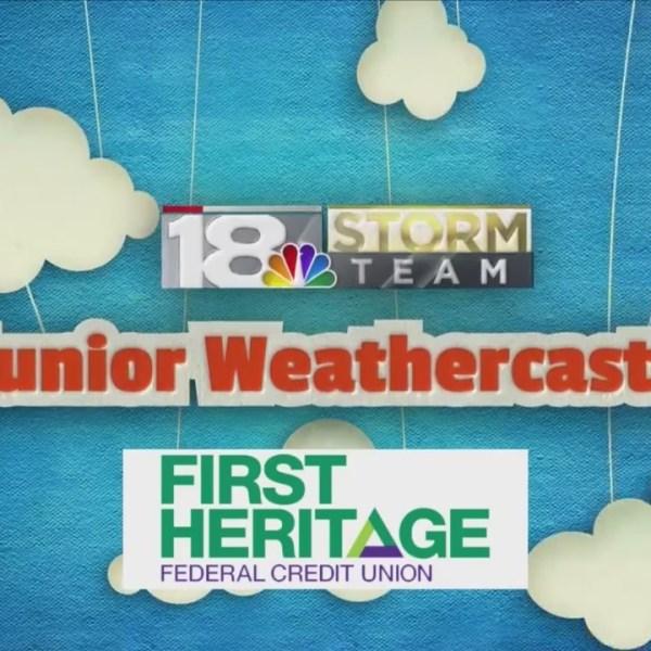 Junior Weathercaster: MaKenna
