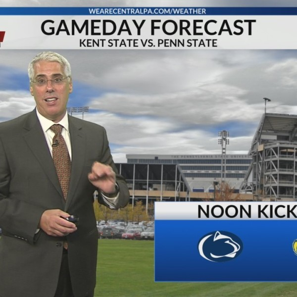 Penn State - Kent State Gameday Forecast