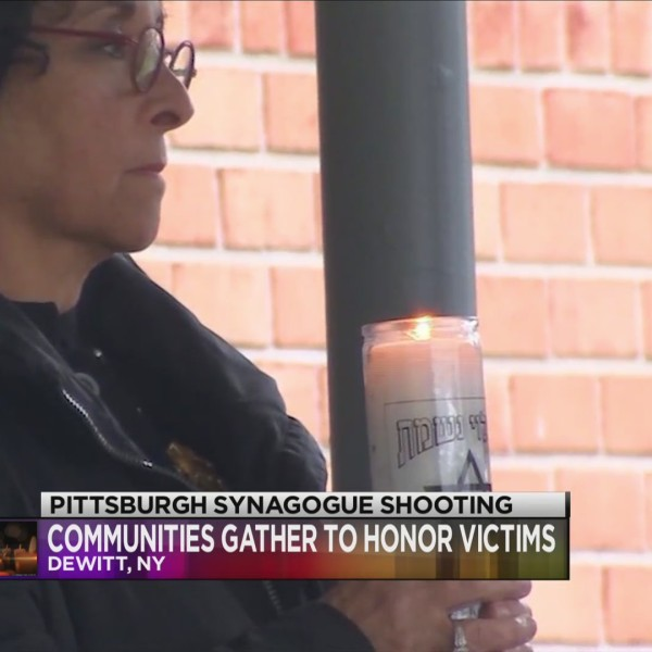 Vigil at Jewish Community Center calls for unity after Pittsburgh tragedy
