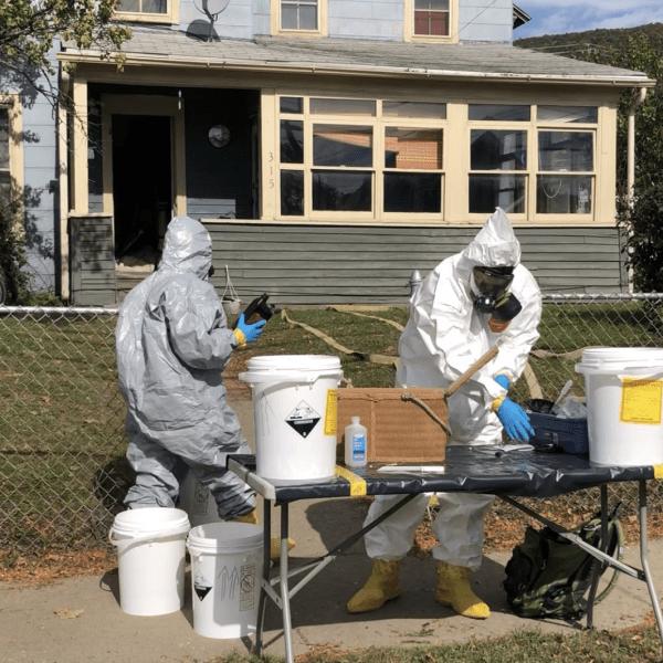 Corning meth lab investigation