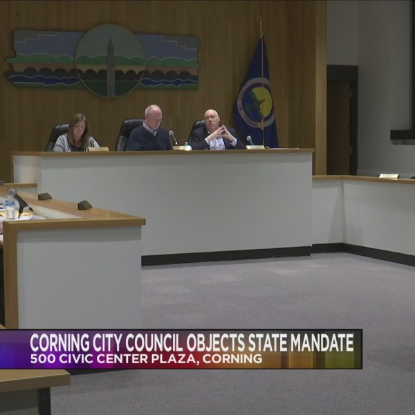 Corning City Council Objects State Mandate