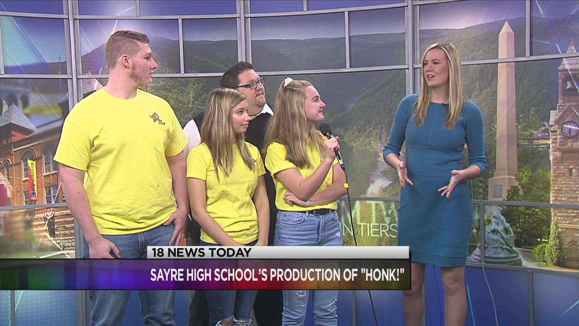 Sayre High School to put on production of Honk!