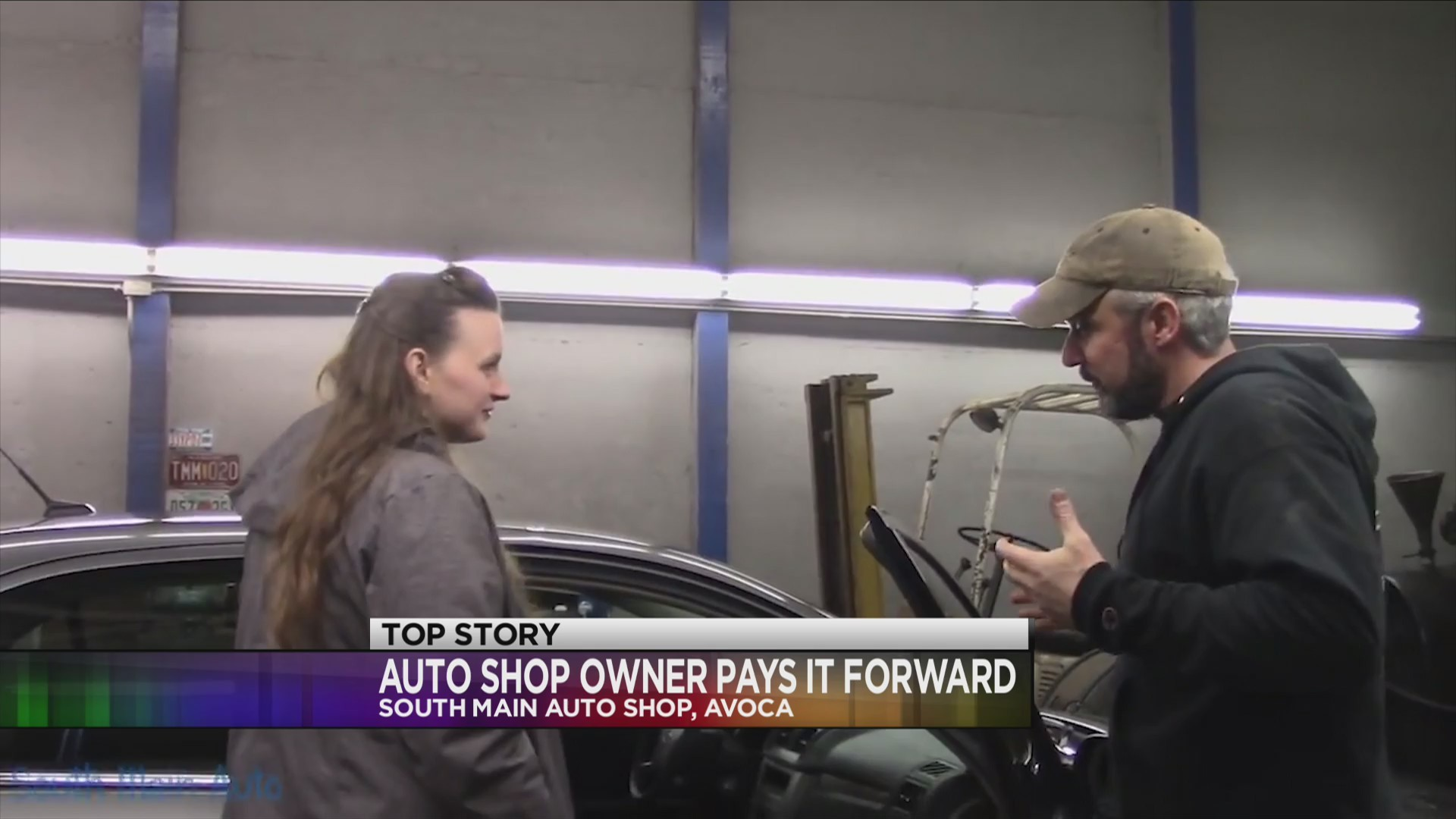 local auto shop owner pays it forward local auto shop owner pays it forward