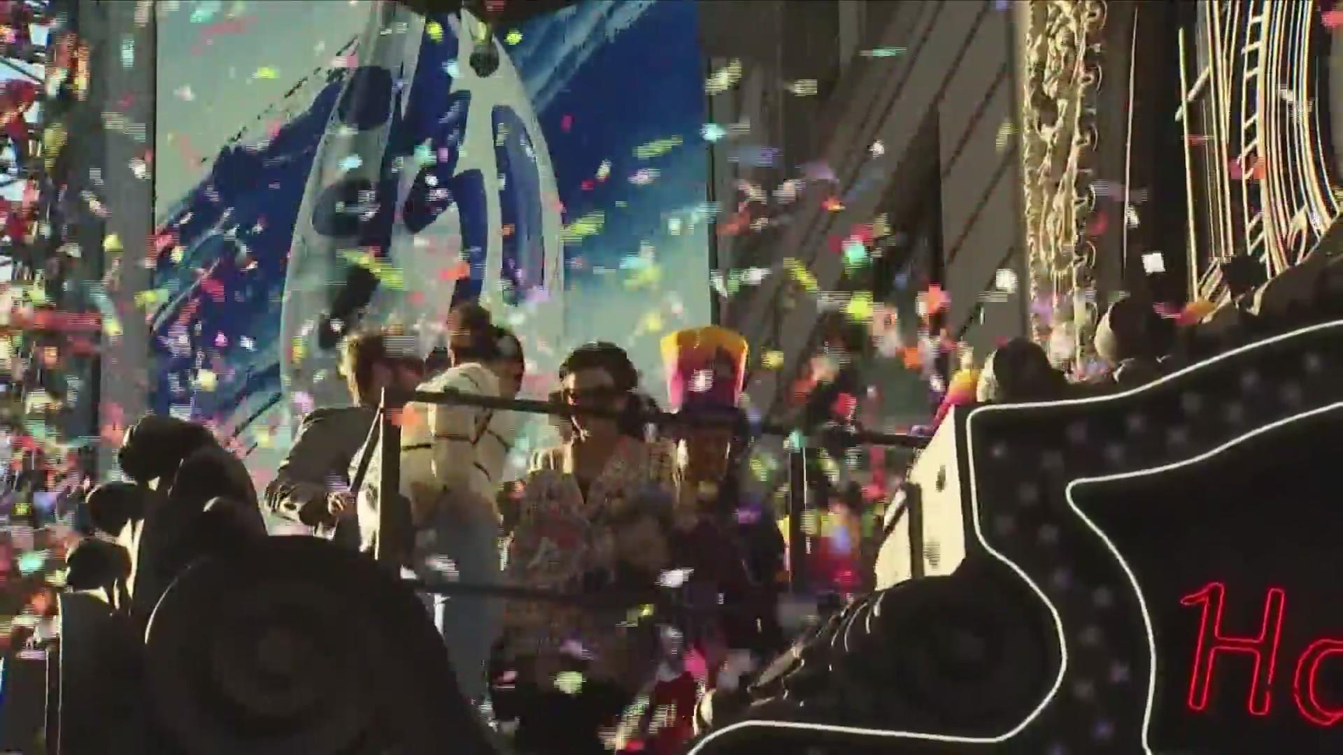 New Year's celebrations across the region