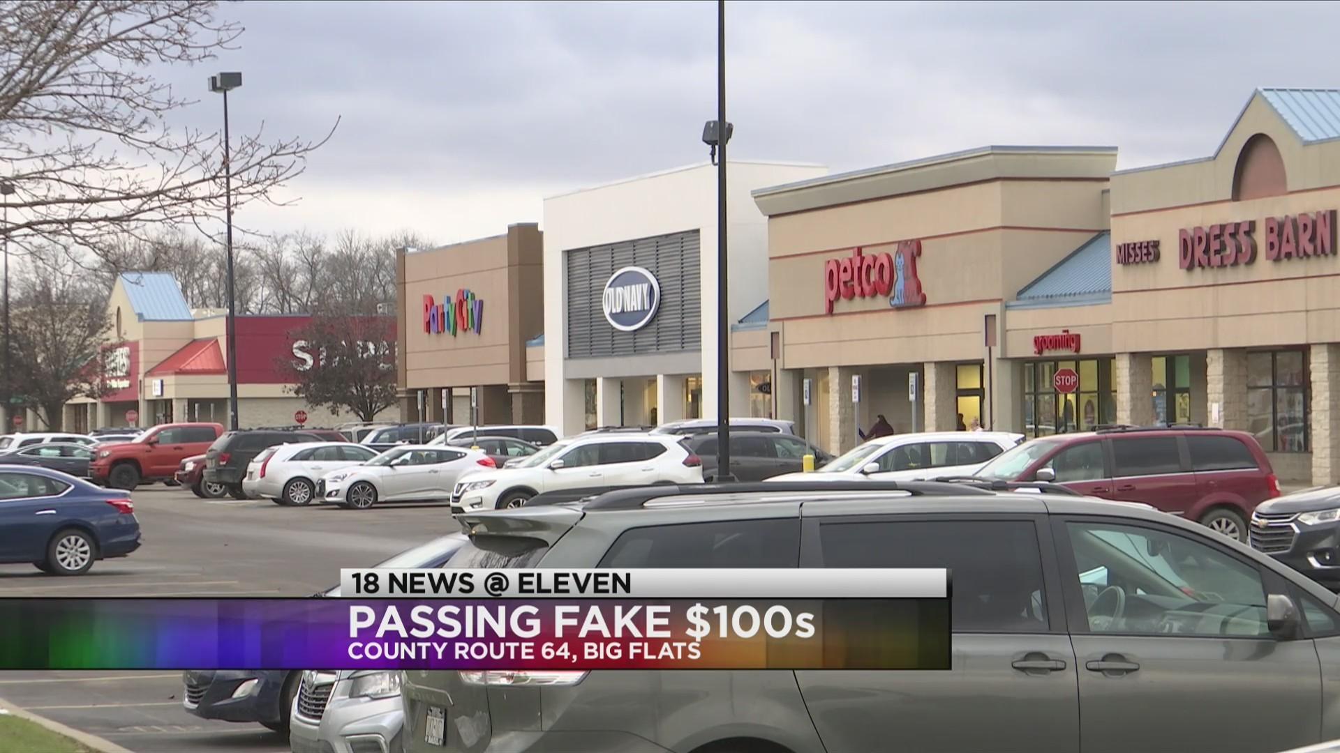 Passing Fake $100s