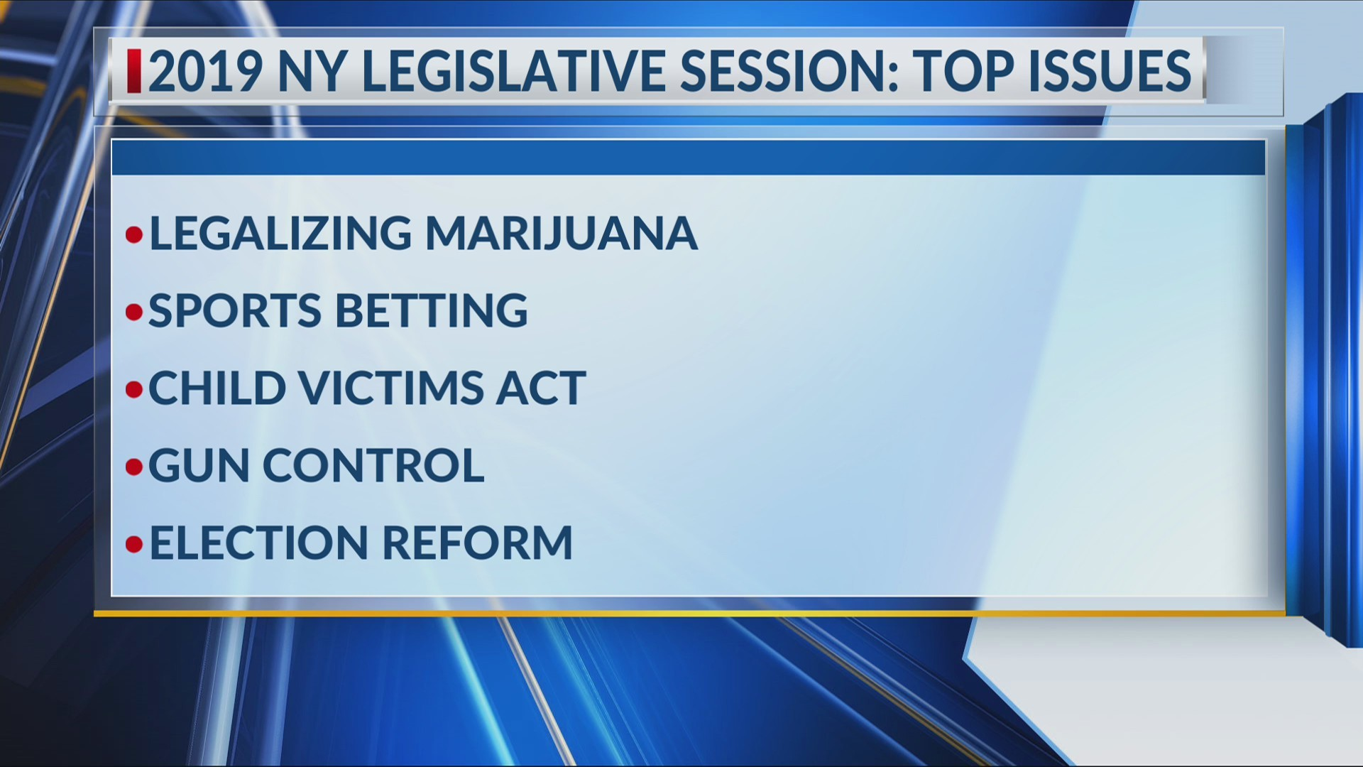 2019 session for NY State legislature to begin Wednesday