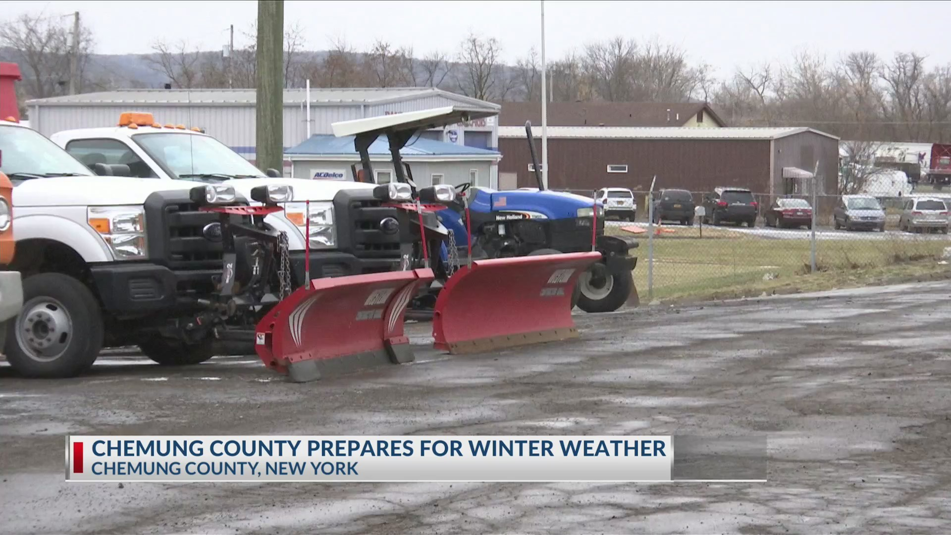 Chemung County Prepares for Storm