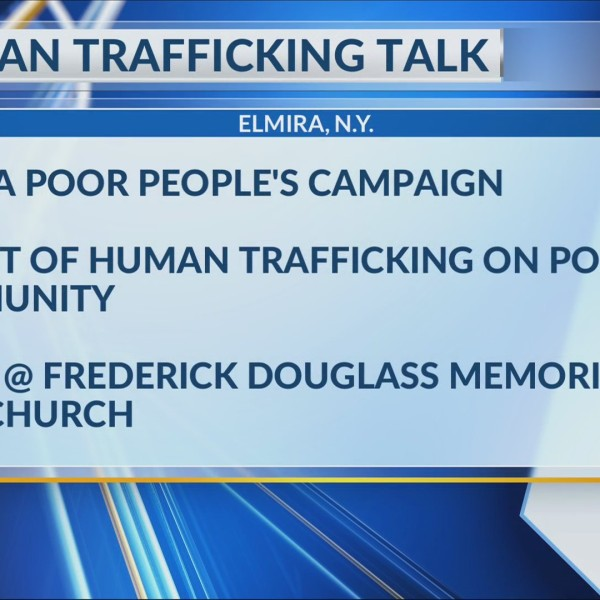 Elmira Poor People's Campaign to host discussion on human trafficking