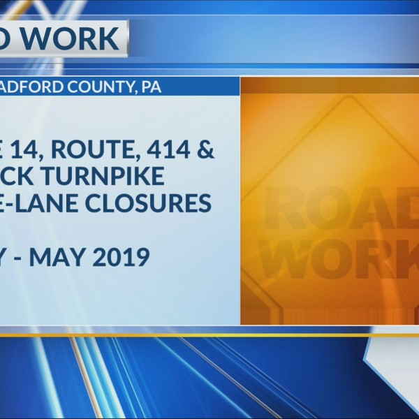 Flood repairs will result in lane closures in Bradford County through late spring