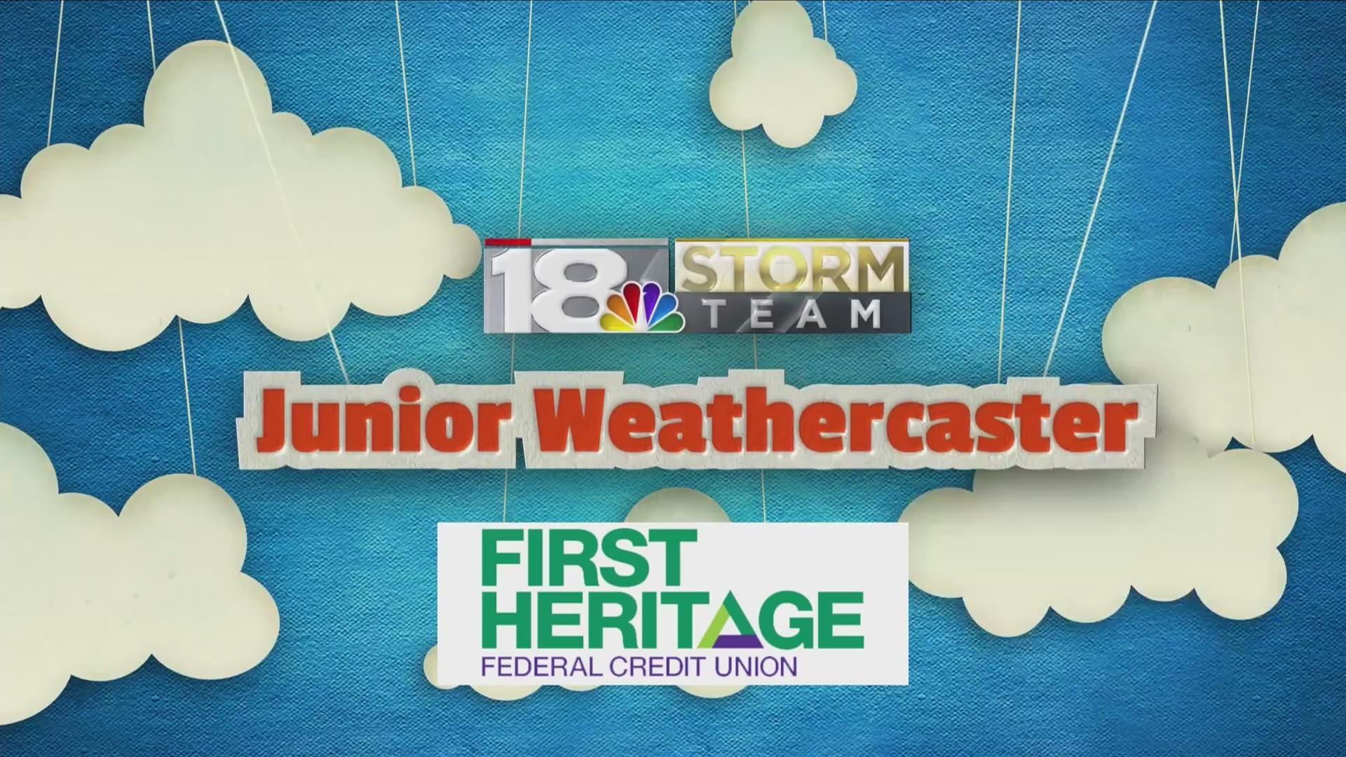 Junior Weathercaster: Brynlee