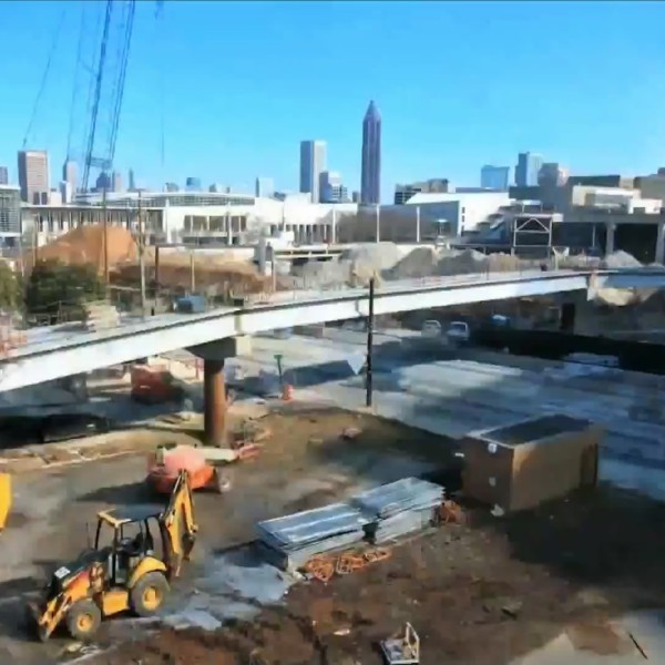 Rochester-based company builds Super Bowl bridge