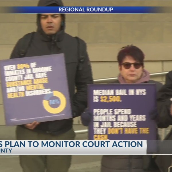 Activists alarmed by Broome County's high incarceration rate plan to monitor courts