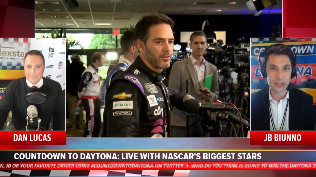 Daytona 500 Media Day: Interviews with Johnson, Truex Jr, Harvick, and more