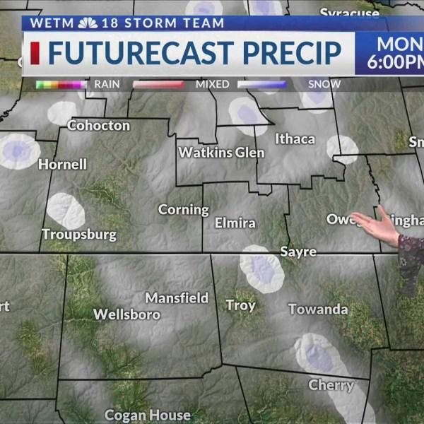 Monday morning forecast 2/18/2019