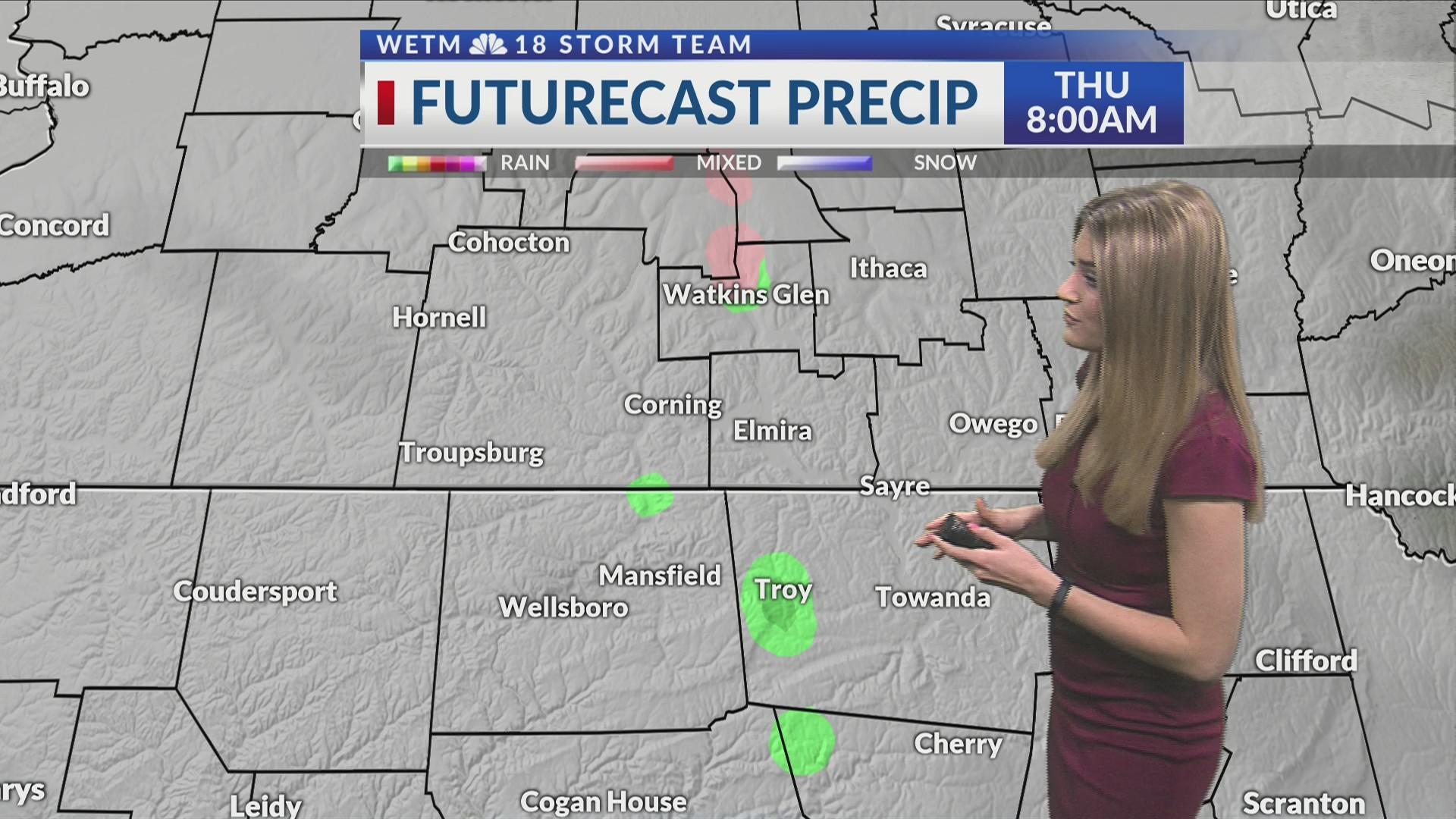 Thursday morning forecast 2/7/2019