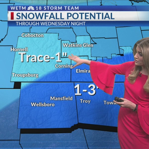 Tuesday morning forecast 2/19/2019