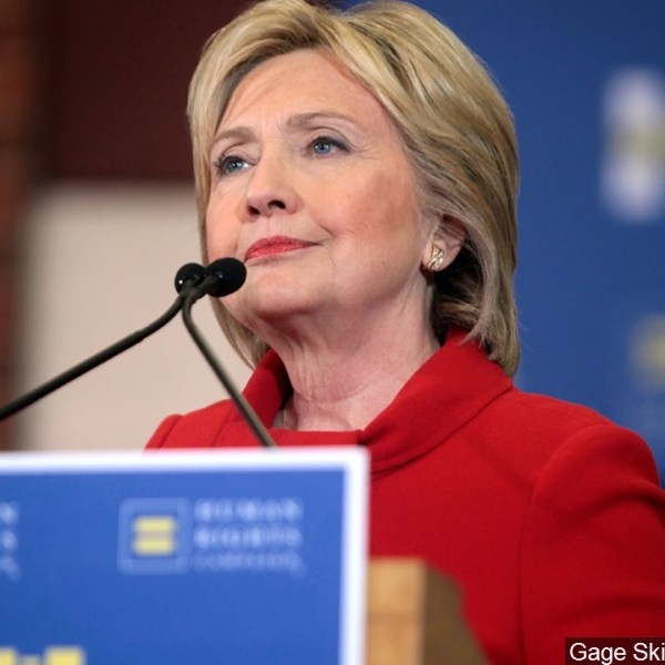 Hillary Clinton speaking to supporters at a rally in West Des Moines, Iowa.jpg