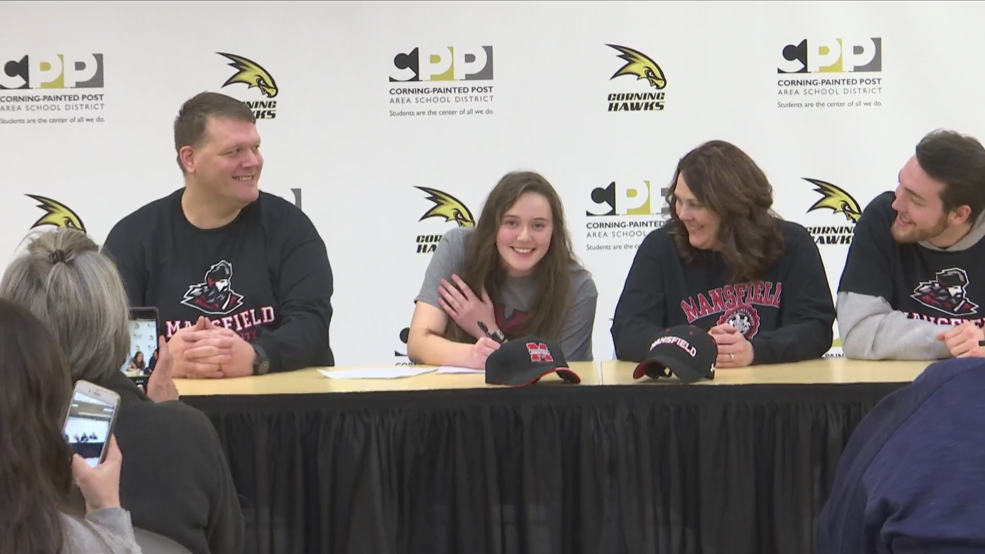 Corning's Webster signs with Mansfield U.